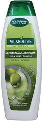 """Palmolive Naturals Long & Shine Shampoo - Шампоан за дълга коса от серията """"Palmolive Naturals"""" - продукт"""