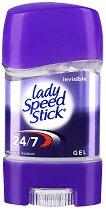 Lady Speed Stick Gel Invisible - Дамски гел стик против изпотяване -