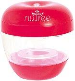 Преносим UV стерилизатор за биберони и залъгалки - Nutree Red -