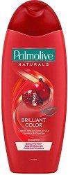 """Шампоан за боядисана коса - Brilliant Color - От серията  """"Palmolive Naturals"""" - парфюм"""