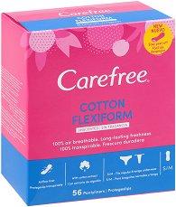 Carefree Flexiform - Ежедневни дамски превръзки в опаковки от 18 ÷ 58 броя - продукт