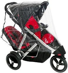 """Двоен дъждобран - Vibe Mesh - Аксесоар за детска количка от серия """"inLine"""" - продукт"""