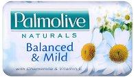 """Сапун - Balanced & Milk - С лайка и витамин Е от серията """"Palmolive Naturals"""" - сапун"""