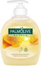 """Palmolive Naturals Milk & Honey Liquid Handwash - Течен сапун с мед и мляко от серията """"Naturals"""" - лосион"""