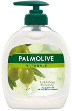 """Течен сапун - Ultra Moisturizing - С маслина и алое вера от серията """"Palmolive Naturals"""" - сапун"""