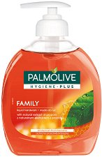 Palmolive Hygiene Plus Family Liquid Handwash - Антибактериален течен сапун с прополис -