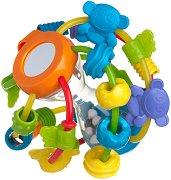 Дрънкалка с дъвкалка - Играй и Oпознай - За бебета над 6 месеца - играчка