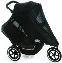 """Двоен слънчобран - Dash Mesh - Аксесоар за детска количка от серия """"inLine"""" -"""