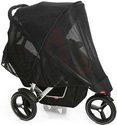 """Двоен слънчобран - Vibe Mesh - Аксесоар за детска количка от серия """"inLine"""" -"""