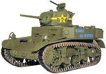 Танк - M3A1 Stuart - Сглобяем модел -