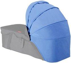 """Допълнителен сенник - Blue - Аксесоар за детска количка """"Navigator"""" -"""