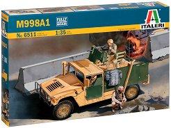 "Американска бронирана многофункционална машина М998А1 ""Humvee"" - Сглобяем модел -"