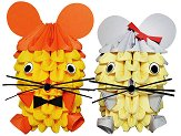Модулно оригами - Мишка -