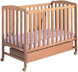 Легло-кошара - Cot Basic - Цвят натурален -