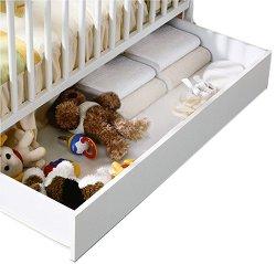 Чекмедже за легло-кошара - CP949 - Цвят бял -
