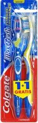 Colgate MaxFresh Medium - Четка за зъби 1 + 1 подарък -