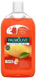 Palmolive Hygiene Plus Family Liquid Handwash Refill - Пълнител за течен сапун с прополис - крем
