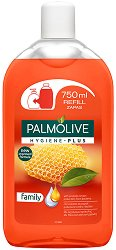 Palmolive Hygiene Plus Family Liquid Handwash Refill - Пълнител за течен сапун с прополис - продукт