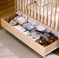 Чекмедже за легло-кошара - CP949 - Цвят натурален -