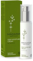 Madara Deep Moisture Cream - Дълбоко хидратиращ крем за суха и много суха кожа -