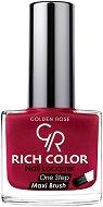 Golden Rose Rich Color - Лак за нокти с гел технология - шампоан