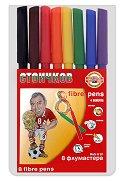 Флумастери Стоичков - Комплект от 8 цвята