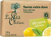 Le Petit Olivier Extra Mild Soap Verbena Lemon - червило
