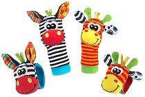 Моите първи дрънкалки за ръце и крака - Джунгла - Бебешка играчка - играчка