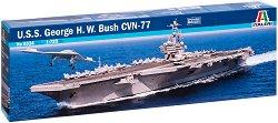 Американски самолетоносач - U.S.S. GEORGE H.W. BUSH CVN 77 - Сглобяем модел - макет