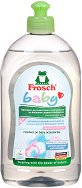 Почистващ препарат за бебешки съдове за хранене - С био и хипоалергенни съставки - залъгалка
