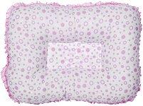 Бебешка възглавница за кърмене - Цвят розов -