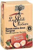 Le Petit Olivier Extra Mild Surgras Soap Shea Butter - продукт