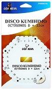 Диск за плетене - Kumihimo - Осмоъгълник - 12 cm