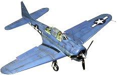 Военен самолет - SBD-5 Dauntless - Сглобяем авиомодел -