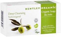 Bentley Organic Deep Cleansing Soap - Дълбоко почистващ сапун с масла от маслина, чаено дърво и евкалипт - маска