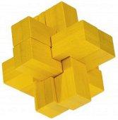 Block Cross - 3D пъзел от бамбук -