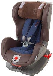 Детско столче за кола - Glider Royal Brown Blue - За деца от 9 до 25 kg -