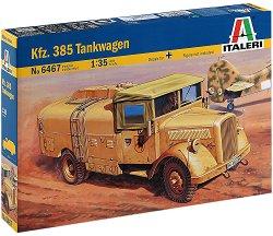 Военен камион -  Kfz.385 Tankwagen - Сглобяем модел -