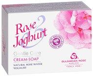"""Крем сапун с натурална розова вода и йогурт - От серията """"Rose Joghurt"""" - маска"""