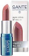 Sante Pure Colors of Nature Lipstick - Червило за неустоими устни - фон дьо тен