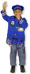 Парти костюм - Полицай - Комплект с фуражка - творчески комплект