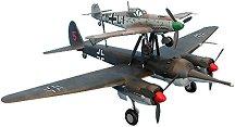 """Военен самолет - """"Mistel"""" - 1 Ju 88 A-4 and BF-109 F-4 - макет"""