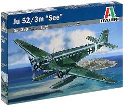 """Военен самолет - Ju-52/3m """"See"""" - Сглобяем авиомодел -"""