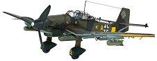 Военен самолет - Ju-87 D-5 Stuka - Сглобяем авиомодел -