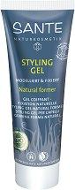 Sante Styling Gel - Стилизиращ гел за коса за нормална фиксация и естествена форма -