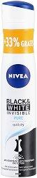 Nivea Black & White Invisible Pure Anti-Perspirant - Дезодорант против изпотяване с 33% гратис - серум