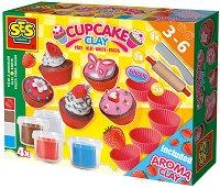 Направи си мини кексчета от глина - Творчески комплект - играчка