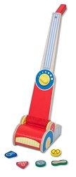Прахосмукачка - Детска дървена играчка -
