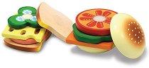 Направи си сандвичи - Детска дървена играчка -
