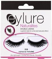 """Мигли от естествен косъм - От серията """"Eylure Naturalities Double Lashes"""" -"""